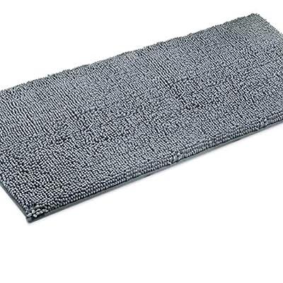 LuxUrux Bathroom Rug Mat –Extra-Soft Plush Bath Shower Bathroom Rug,1'' Chenille Microfiber Material, TPR Surface, Super Absorbent. Machine Wash & Dry