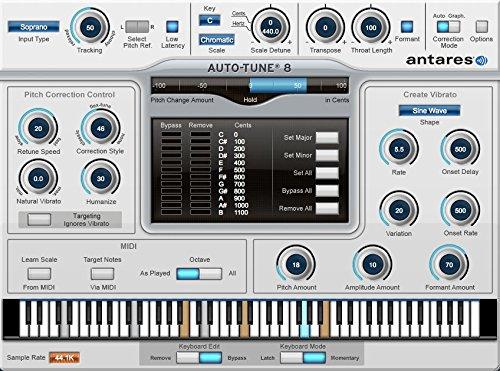 『並行輸入品』◆超定番 Antares Auto-Tune 8 Native ボーカルピッチ編集ツール◆ノンパッケージ/ダウンロード形式 B018QNKECG
