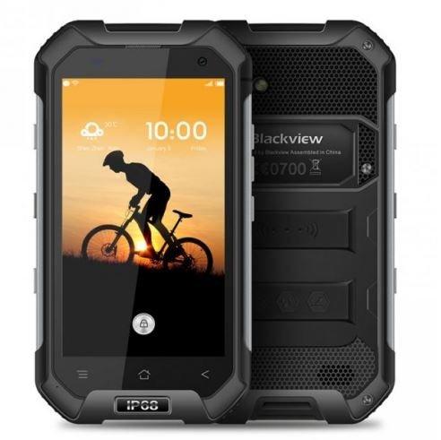 Blackview BV6000 - IP68 Android 6.0 Wasserdichte Outdoor-Smartphone 3GB RAM + 32GB mit 2,0 GHz 4,7-Zoll-Gorilla-Glas 3 schwarz