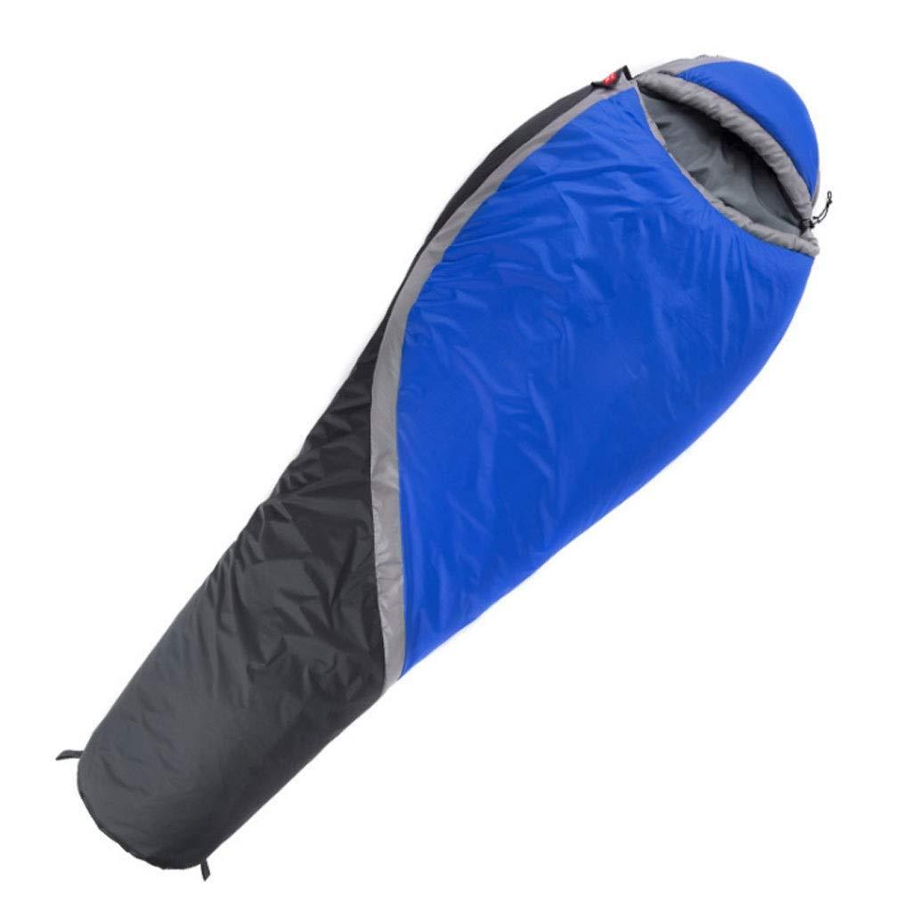 Mummy Schlafsack Leichte Erwachsene Baumwolle Outdoor Camping Jahreszeiten Warm Und Wasserdicht