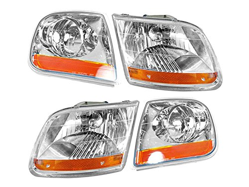 (Ford F-150 Truck 01-04 Harley-Davidson Head And Corner Light 4 Piece Combo )