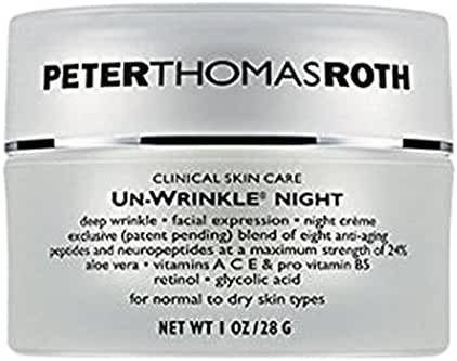 Peter Thomas Roth Un-Wrinkle Night Cream, 1 Ounce
