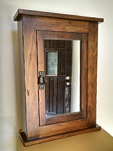 Distressed Mission Medicine Cabinet/Rustic / Solid Wood & handmade/Surface Mount