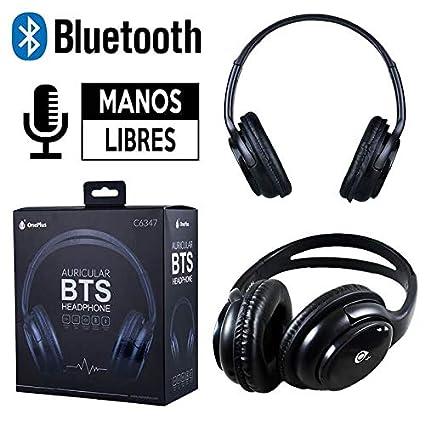 OnePlus - Cascos/Auriculares de Diadema Bluetooth Manos Libres One Plus Negro