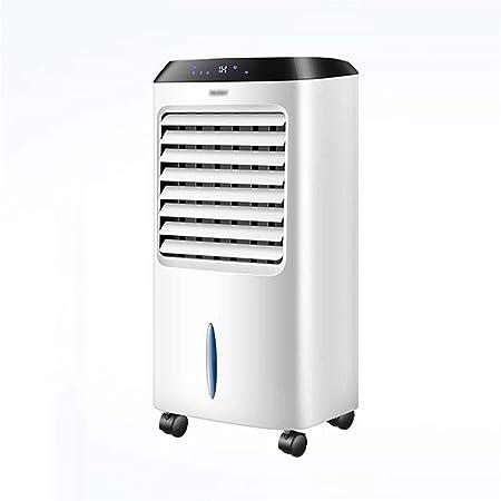 Ainaobaoybz Climatizador Evaporativo,Climatizador Portátil, Enfriador de Aire evaporativo ecológico 3 en 1 móvil, Control Remoto Inteligente Ventilador de Aire Acondicionado de 3 velocidades: Amazon.es: Hogar