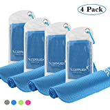 Best Cooling Scarves - SYOURSELF 4 Pack Cooling Towels for Instant Relief-Cool Review