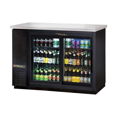 True TBB-24-48G-SD-LD Back Bar Cooler - Two Sliding Glass Door, 49