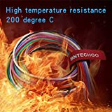 BNTECHGO 20 Gauge Silicone Wire Kit 10 Color Each