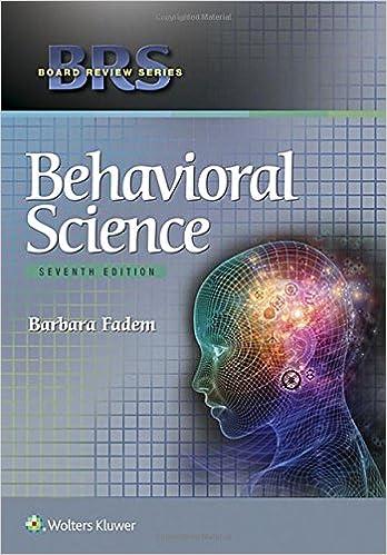Science brs pdf behavioral