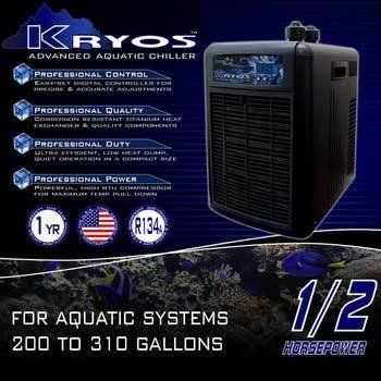 Deep Blue Professional ADB50060 Kryos Advanced Aquatic Chiller, 1/2 HP by Deep Blue Professional