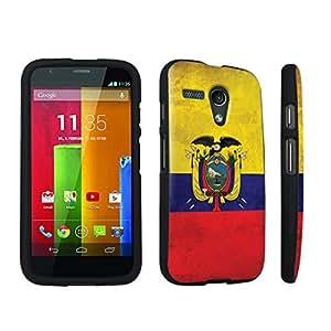 DuroCase ? Motorola Moto G 2013 1st Gen. Hard Case Black - (Ecuador Flag)