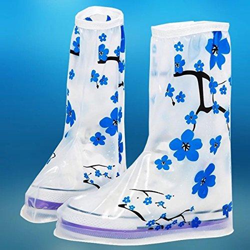 HHBO Rivestimento impermeabile riutilizzabile Custodie per scarpe da donna resistenti alle scivolature