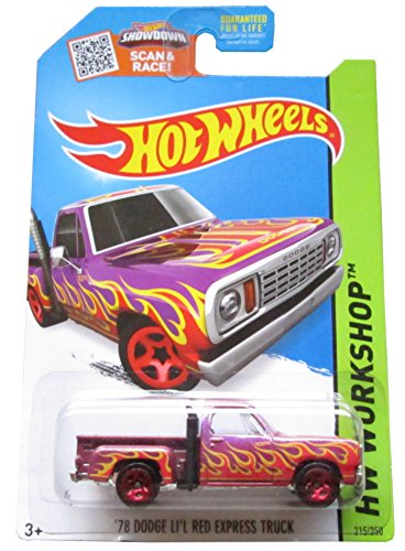 Hot Wheels, 2015 HW Workshop, '78 Dodge Lil Red Express Truck [Purple] #215/250 1978 Dodge Lil Red Express Truck