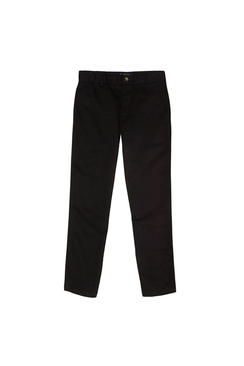 French Toast Boys' Straight Leg Twill Pant (14, Black) 1599F BLAC 14