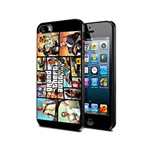 Grand Theft Auto V Game GTA3 Silicone Case Cover Protection For Sumsung Note2 @boonboonmart