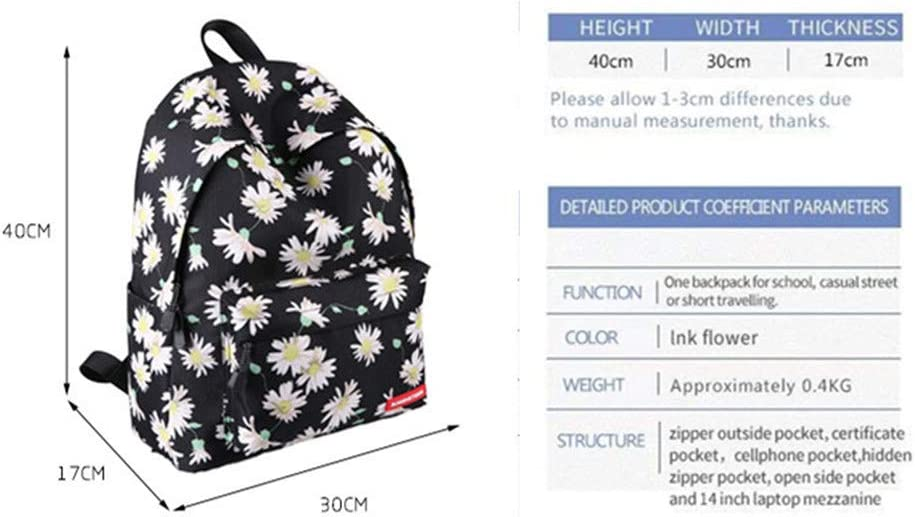Runningtiger Sac /à Dos Loisirs Multicolore Floral/_01