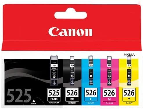 Canon PGI-525+CLI-526 5 Cartuchos Multipack de tinta ...