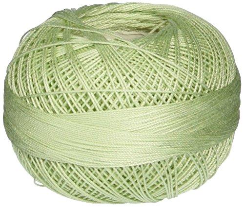 Handy Hands 210-Yard Lizbeth Cotton Thread, 25gm, Light Pistachio Green
