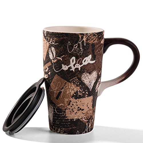 Minigift Lover MugsColor BlueCoffee Ceramic trave java Mug 17oz11 Designs for choiceVintage java Commuter trave Mugs