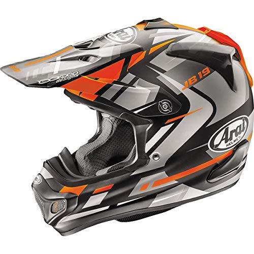 Arai Motocross Helmet - Arai VX-Pro 4 Dazzle Orange Motocross Helmet - X-Large