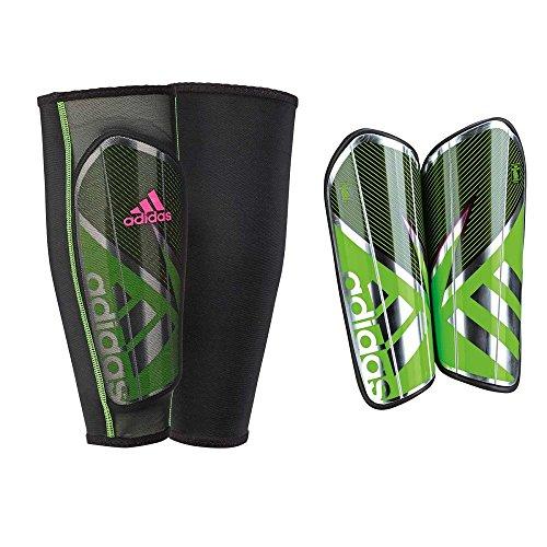 adidas Herren Schienbeinschoner Ghost Pro, Solar Green/Core Black/Shock Pink S16, XS, AH7776