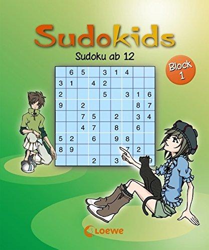 Sudoku ab 12. Block 1 (Sudokids)