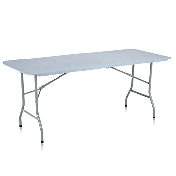 Strattore Table de Jardin Plastique Traiteur Pliante Table Buffet ...