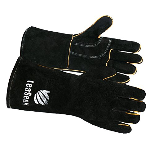 Leather Barbecue Gloves LeaSeek Resistant product image
