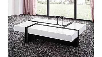 Table Tiroirs Nora Blanche Nitro 4 Basse Mobilier Design WeBQdxoErC