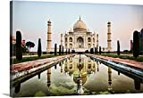 Scott Stulberg Premium Thick-Wrap Canvas Wall Art Print entitled India Taj Mahal 48''x32''