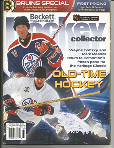 (Feb. 2004 Beckett Hockey Double-Cover Price Guide w/Gretzky, Messier, Neely on Covers )