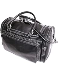 Floto Luggage Torino Duffle, Black, Large