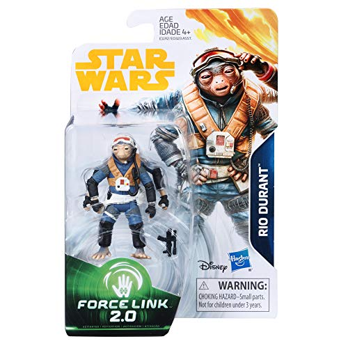 Star Wars Rio Durant - Force Link 2.0 - 3.75 inch Action Fig