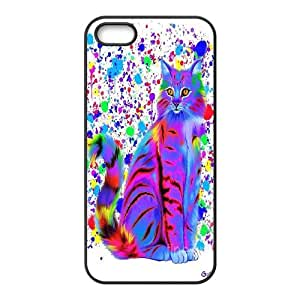 UNI-BEE PHONE CASE For Apple Iphone 5 5S Cases -Grumpy Cat,Because Cats-CASE-STYLE 3