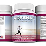 Adrenal Fatigue Support Supplement • Adrenal Complex Packed w/ Essential Nutrients & Herbs to Support Healthy Adrenal Cortex Function and Response to Stress, Immune System Strength, and Energy Levels.
