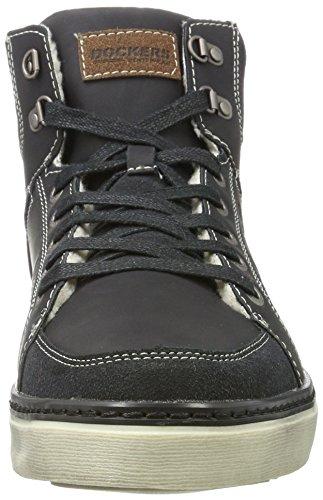 Hellbraun by Alto Gerli Dockers Uomo Sneaker Schwarz Collo 41mc103 Nero 610134 a TdPxdqZ