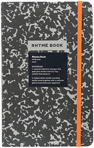Rhyme Book A lined notebook with quotes, playlists, and rap stats [Rosenthal, Eric - Rosenthal, Jeff] (Tapa Dura)