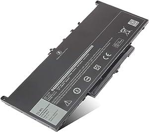 New J60J5 Laptop Battery for Dell Latitude E7470 E7270 Ultrabook Series Type Dell R1V85 451-BBSX 451-BBSY 451-BBSU MC34Y 0MC34Y 242WD PDNM2 1W2Y2 GG4FM 0GG4FM WYWJ2 Notebook Battery