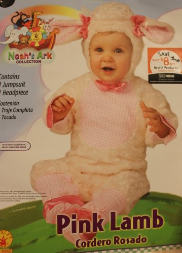 (Rubies 885827 Baby Pink Lamb Costume, 6 - 12 Months)