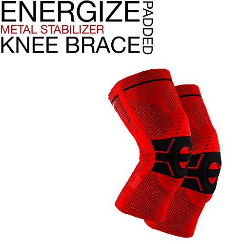 energize-metal-petalla-stabilizer-knee-brace-with-padded-cushion-red-knee-support-1-pack