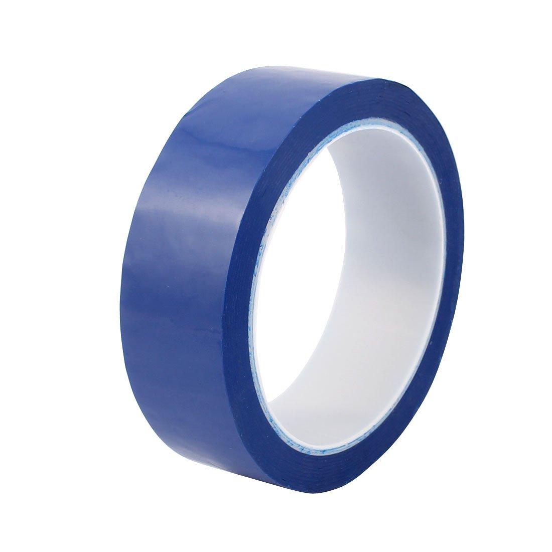 sourcing map 35mm auto-adh/ésif simple face forte bande mylar 50m longueur bande Logo Bleu