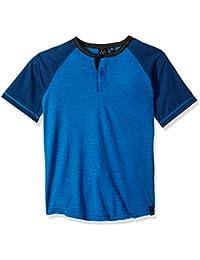 Big Boys Mastermind Knit Henely Raglan Shirt