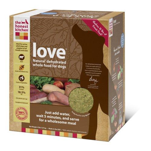 The Honest Kitchen Love Grain-Free Dog Food, 4-Pound, My Pet Supplies