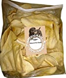 HDP Beef Cow Ears JUMBO Flavor:Natural Size:Pack of 20