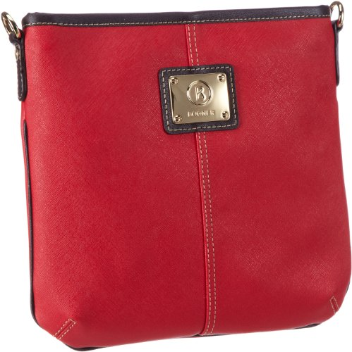 Price comparison product image Bogner Leather Messenger Bag Crossing Sara, - Rot (red 239), 1113750