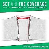 Rukket 12x9ft Lacrosse Backstop Barrier Net