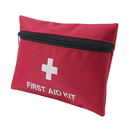 Mini First Aid Kit: Compact for Emergency at Home, Outdoors, Car, Camping, Workplace, Hiking & Survival
