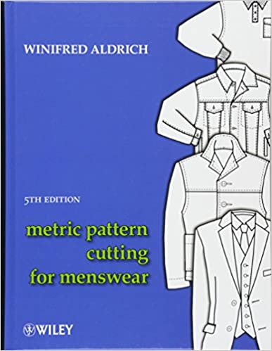 winifred aldrich metric pattern cutting for menswear