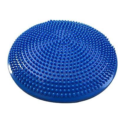 XZANTE Yoga Azul Esteras Equilibradas Cojín De Almohadilla ...