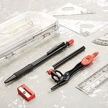 Amazon Com Bingqing Brand Drawing Compass Set Geometry Kit Set 8
